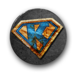 "Button ""KNASTER-K"""