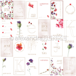 Designerpapier *Kärtchenbogen Floral*