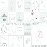 Designpapier *Nordische Tiere*