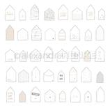 Designpapier *Häuser Willkommen*