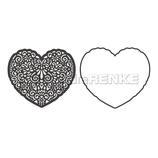 Die *Herz Ornament mit Rahmen*