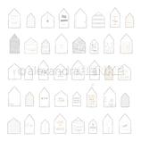 Designpapier *Häuser Home...*
