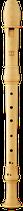 Flauto Rondo Sopranino Barocke Griffweise