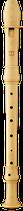 Flauto Rondo Sopran Deutsche Griffweise