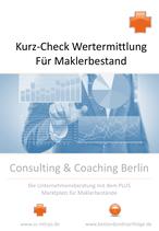 Kurz-Check Wertermittlung für Maklerbestand