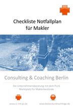 Checkliste für Makler: Notfallplan für Makler