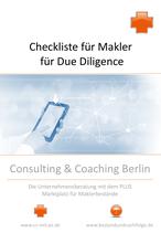 Checkliste für Makler: Tiefenprüfung von Maklerfirmen und Maklerbeständen (Due Diligence)