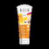 Crème solaire SPF 30, 100% minérale, peaux sensibles LAVERA - 75ml