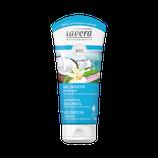 Gel douche Exotique Noix de coco bio & Vanille bio, peaux normales à sèches LAVERA - 200ml