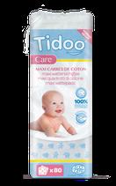 Maxi carré de coton bio Ultra doux TIDOO - x80