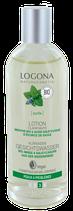 Lotion Clarifiante Menthe bio, Acide salicylique (écorce de saule), peaux à problèmes LOGONA - 125ml
