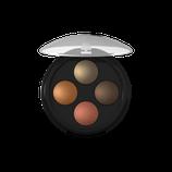 Palette Quattro, fard à paupières poudres cuites Indian dream LAVERA - 2g