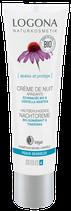 Crème de nuit Apaisante Echinacée bio & Centella Asiatica, peaux sensibles LOGONA - 30ml
