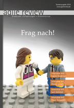 agile review 2018/Sonderausgabe – Frag nach!