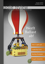 agile review 2019/02 Werft Ballast ab!