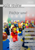 agile review 2015/02 Fü(h)r uns!