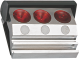 Huilier 3 godets avec couvercle rabattable - ECO