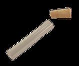 Tube en verre avec bouchon en liège - BERGEON