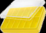 Boîte jaune, 12 cases HOROTEC