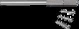 Broche moletée en acier - HOROTEC