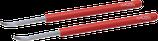 Paire de leviers pour aiguille de réveils / pendules HOROTEC