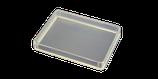 Lot de 10 boîtes plastique transparentes