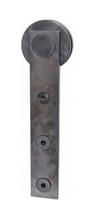 schwarzSTAHL ST Laufwerk SS 40 x 225 x 8 mm