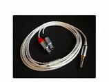 KOPFHÖRER KABEL HD 800/S  AUF 1x3,5mm KLINKE 6N-OCC HEADPHONE CABLE 1,5m/3m