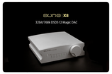 AUNE X8 - DSD DAC DIGIT. ANALOG CONV USB DA WANDLER HIGHEND - SILBER - SILVER