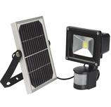 LED Fluter 10W mit Bewegungsmelder & Solarakku