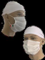Mascherina bianca  - prezzo per lotti da 20 pezzi min. e fino a  100 pezzi complessivi