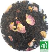 Thé noir a la rose BIO