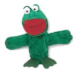 Fingerpuppe Frosch