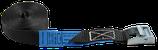 Zurrgurt mit Klemmschloss einteilig, schwarz, LC 400 daN