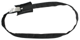 Rundschlinge mit Stahleinlage, schwarz