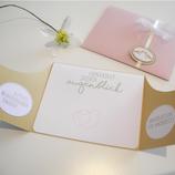 ANLEITUNG Hochzeitskarte