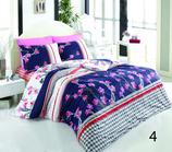 Bettwäsche für Doppelbetten 4-teilig