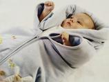 Baby Wickeldecke mit Reisverschluss