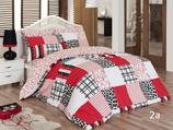 Bettwäsche für Einzelbetten 3-teilig
