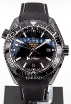 Omega Seamaster Planet Ocean DEEP BLACK GMT Kaliber 8906