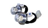 Axixtech HAL09 Tri-LED Hideaways 12-30V