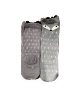 high socks grijs