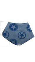 Sterne Sweat hellblau (HS8)