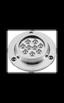 LUCE SUBACQUEA INOX 9 LED