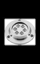 LUCE SUBACQUEA INOX 6 LED
