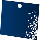 Produktanhänger quadratisch 98x98