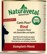 Canis Plus Rind Komplett Menü