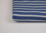 Nachtblau/Wollweiß Ringel (25cm)