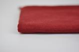 Wolle/Seide-Einfassstreifen Karminrot