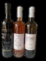 Kloster Agia Triada Weinset-Trilogie 3x750ml Flaschen